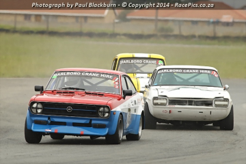 Marlboro Crane Hire Pre-77 Historic Saloon Cars FGH - 2014-03-15