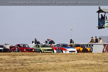 Marlboro Crane Hire Pre-1979 Historic Saloon Cars ABCDE - 2015-06-06