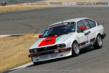 Ewart was in dominant form in his mint GTV