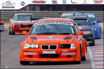 Paulo Loureiro (E36 M3) was happy to start from the third row of the grid