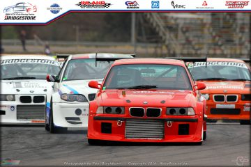 Dino Fameliaris (E36 M3 Turbo) has moved up to second place in class A