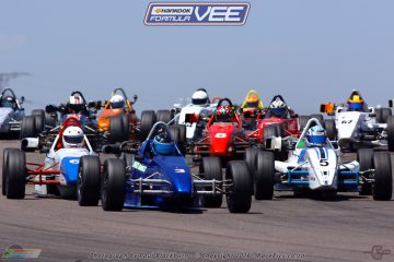 The close wheel-to-wheel racing expected from the Hankook Formula Vee