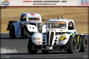 Seef Fourie was on song and emerged as the new championship leader