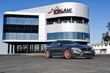 BMW M4 GTS at Kyalami