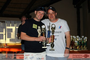Ricky Giannoccaro's performance was even more impressive as he not only claimed the Overall and  class B race victories, but he also claimed the Driver of the day and Fastest lap of the day Awards!