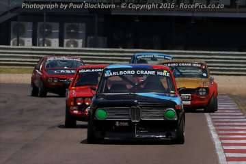 Marlboro Crane Hire Pre-1979 Historic Saloon Cars FGH - 2016-04-09
