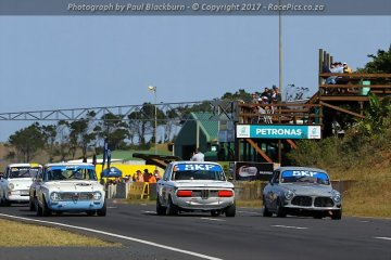 SKF Pre-1966/68 Legends Saloon Cars - 2017-08-05