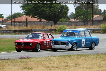 SA Mechanical Seals Alfa Trofeo and Midvaal Historics - 2014-10-25