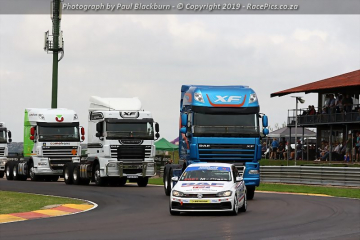 DAF Truck Display and Honorary Laps - 2019-02-02