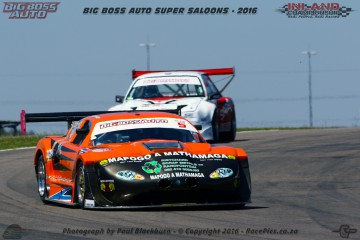 Mackie Adlam took the overall win in the Big Boss Auto Super Saloons